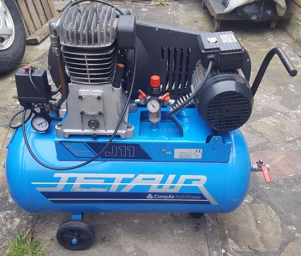 Jetair air compressor 50 litres in moseley west - Compresor 50 litros ...