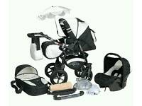 All in one travel system.