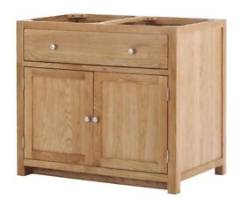 2 Door 1 Drawer Cabinet with soft close drawers (SOK-002)