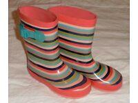 Girl's Wellingtons / Wellington Boots / Wellies – Size 11