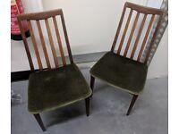 4 G Plan Fresco Chairs