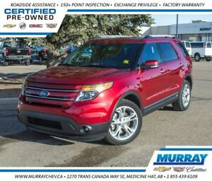 2015 Ford Explorer Limited *Leather *NAV *H/C Seats *6 Pass