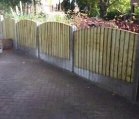 💎Excellent Quality Bow Top Feather Edge New Fence Panels • Heavy Duty