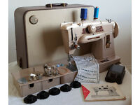 Singer 401G Heavy Duty Slant-Needle Gear-Driven Sewing Machine - SEWS LEATHER - Excellent Condition