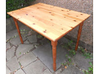 Work Table, Bench or Desk - Solid Pine