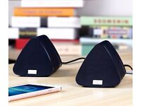 Dual Wireless Speakers for Home TVs, all Mobile Phones, Laptops, PCs, iPods