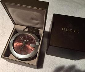 Gucci desk clock