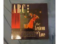 Vinyl album - ABC Lexicon of Love
