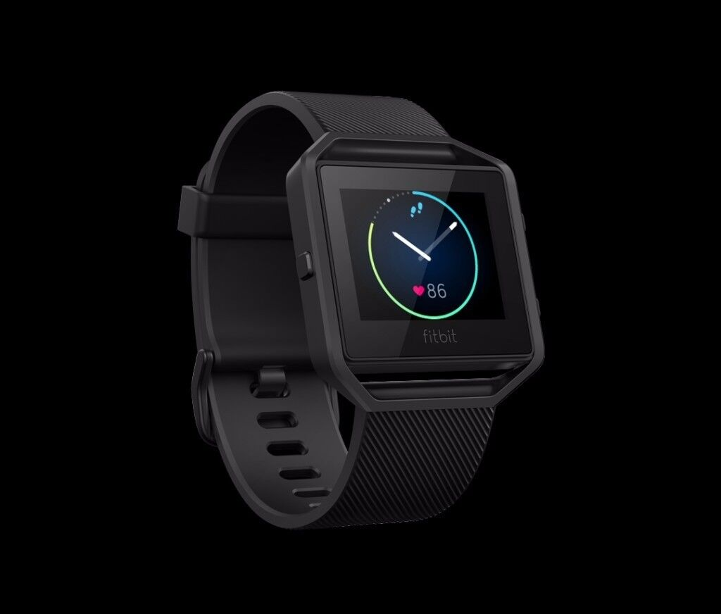 Unopened, brand New Fitbit Blaze (large) Special Edition Gunmetal for 120