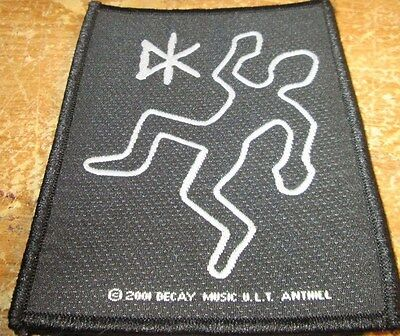 DEAD KENNEDYS COLLECTABLE VINTAGE PATCH  WOVEN  ENGLISH PICTURE