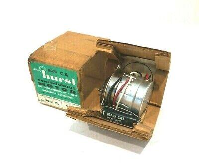 New Hurst Model Ca Synchronous Motor