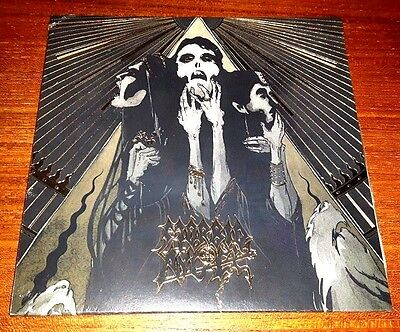 "MORBID ANGEL & COMBICHRIST - Nevermore (Ltd.7"" Clear Vinyl; Season Of Mist; OVP)"