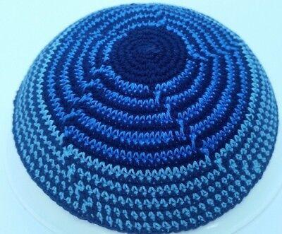 Hand Knitted Yarmulke kipa kippot yarmulkes skull cap hat Kippah jewish 17 cm