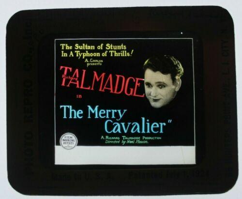 The Merry Cavalier 1926 glass slide - Richard Talmadge - free shipping