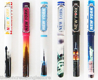 New York Souvenir Pen  Statue Of Liberty Pen  Set Of 6