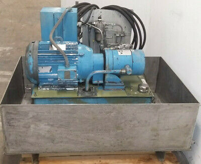 Victor Fluid Power Rodgers Pe300-10-p-0-s-11 Axial Piston Pump 10000 Psi System