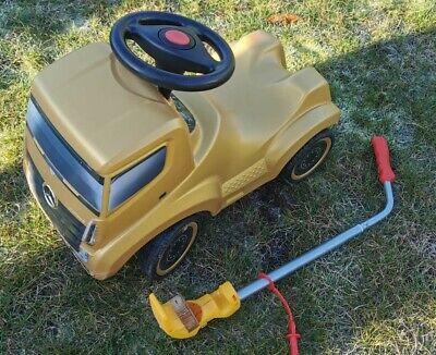 Bobby Car Mercedes Benz Actros LKW gold Rutscher, Schuhe, Stange