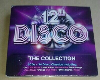"12"" Disco Collection 3 CD Set Best Of 70s 80s chic sister sledge linx spinners"