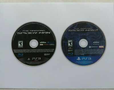 The Amazing Spider-Man and The Amazing Spider-Man 2 (PS3) DISC ONLY!!