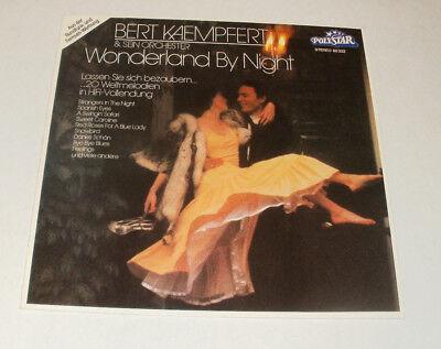 Bert Kaempfert & sein Orchester , Wonderland by Night ,LP