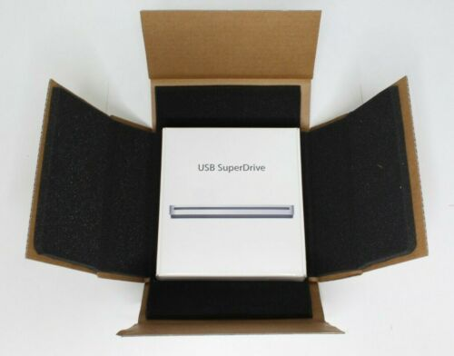 Apple MD564LL/A External USB SuperDrive New Sealed