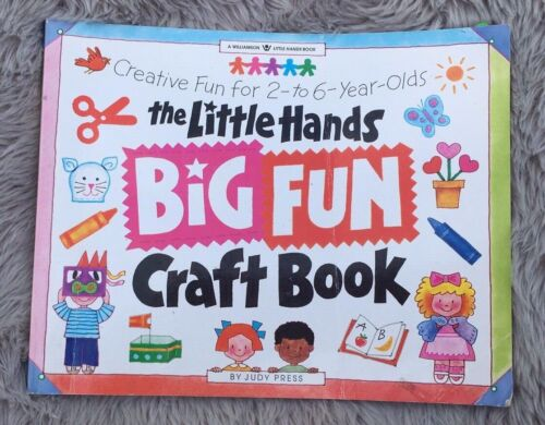 The Little Hands Big Fun Craft Book by Judy Press (1996, Softcover)