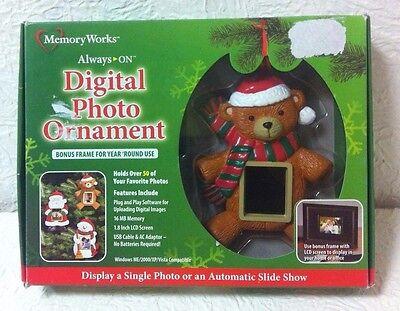 Цифровая фоторамка MEMORY WORK DIGITAL CHRISTMAS