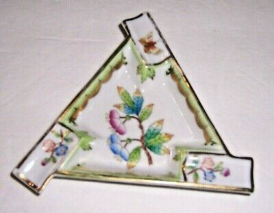 Herend Vintage Triangular Ashtray