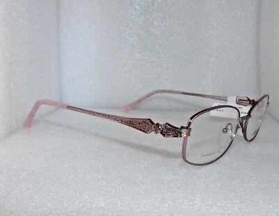 NEW NEW YORK EYE ENHANCE EN3935 LIGHT PINK EYEGLASSES GLASSES FRAMES 53-17-140