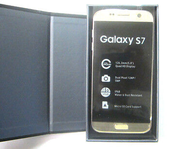 New Samsung Galaxy S7 G930T 32GB Gold Platinum T-Mobile Simple Family UNLOCKED