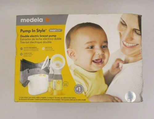 Medela Pump In Style MaxFlow Double Electric Breast Milk Pump New Damaged Box