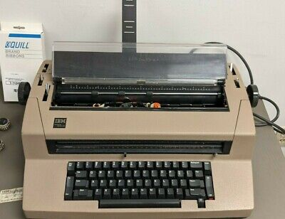 Ibm Selectric Iii Correcting Typewriter Dual Pitch Manual Cover Accessories Incl