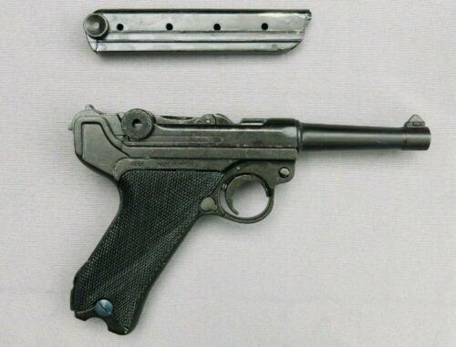 Denix Replica Pistol German Luger Parabellum P-08 Black Grip Non-Firing