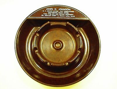 BAKELITE ASH TRAY GRAIN DRYERS YORK STEEL BIN HAY JOHN JOHNSON NEWELL STORM LAKE