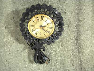 BLACK TRIVET WALL CLOCK MODEL TC-1 SESSIONS PARAGON ELECTRIC TWO RIVERS WI