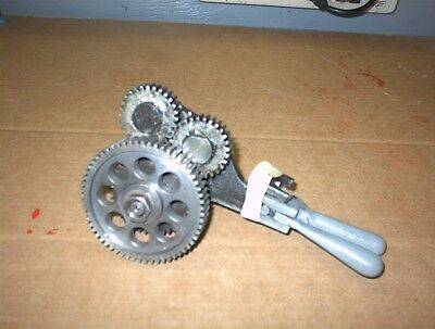 12 Logan Lathe 2500 Series Fwdrev Gear Assembly Metal Working Forward Reverse