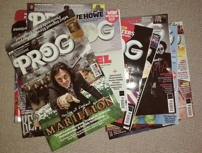 Prog Rock mags, all with cover CDs - see description for issues still available