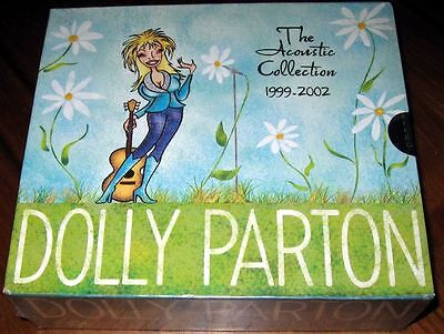 Dolly Parton - The Acoustic Collection 1999-2002 USA 3 CD + DVD Box Set NEW