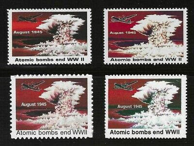 ATOMIC BOMB ENDS WWII - 1995 U.S. POSTAGE