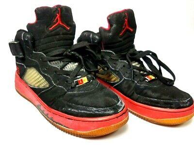 Men's Nike Jordan Air 23 AF-1 The best Of Both Worlds Red Black 136027 061 Sz 8