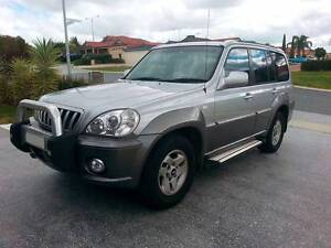 2003 Hyundai Terracan 3.5L 5spd Manual 4WD Alexander Heights Wanneroo Area Preview