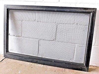 1910's Wooden WINDOW SCREEN Craftsman Style Transom Window Screen ORIGINAL (Craftsman Screen)