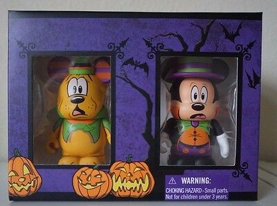 Disney Parks Vinylmation Halloween 2014 Limited Edition Mickey Pluto NEW IN BOX (Halloween Vinylmation)