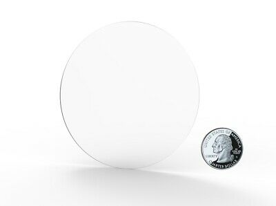 Clear Acrylic Plexiglass Lucite Circle Round Disc