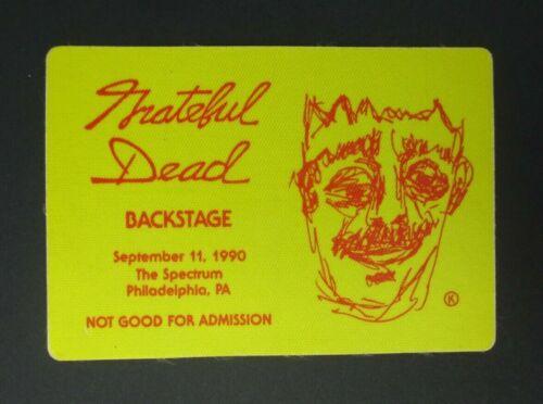 Grateful Dead Backstage Pass The Spectrum, Philadelphia PA (9/11/90)