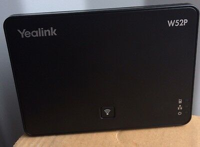 New Yealink SIP - W52P DECT Cordless IP Base Unit ONLY