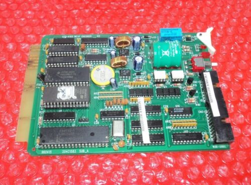 Hyundai Std-k105 Wcvf Elevator Encoder Board 204c1583 Sub_a K0