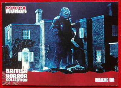 BRITISH HORROR - Card #58 - Konga! - BREAKING OUT