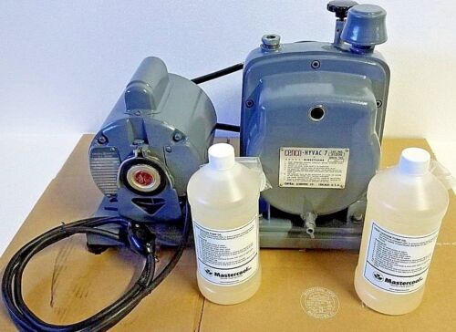 Cenco Hyvac 7 Vacuum Pump 91506 with GE Motor