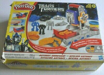 TRANSFORMERS Dark of the Moon PLAY DOH TOY w/ box Hasbro